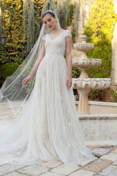 فساتين زفاف 2020 تركي