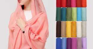 حجابات تركية بالجملة.. خامات عالية الجودة من 9 متاجر