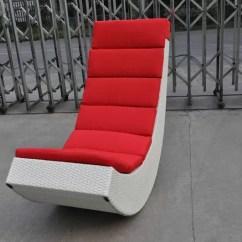 Woven Rocking Chair Wheelchair Width Rahat Koltuk Sallanan Rattan Sandalye, Alüminyum çerçeve