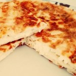 Borek with cheese in a pan - Peynirli Tava Boregi