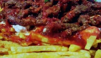 Meat & Frit Kebab - Cokertme Kebabi