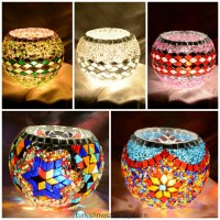 Turkish mosaic candle holder wholesale USA
