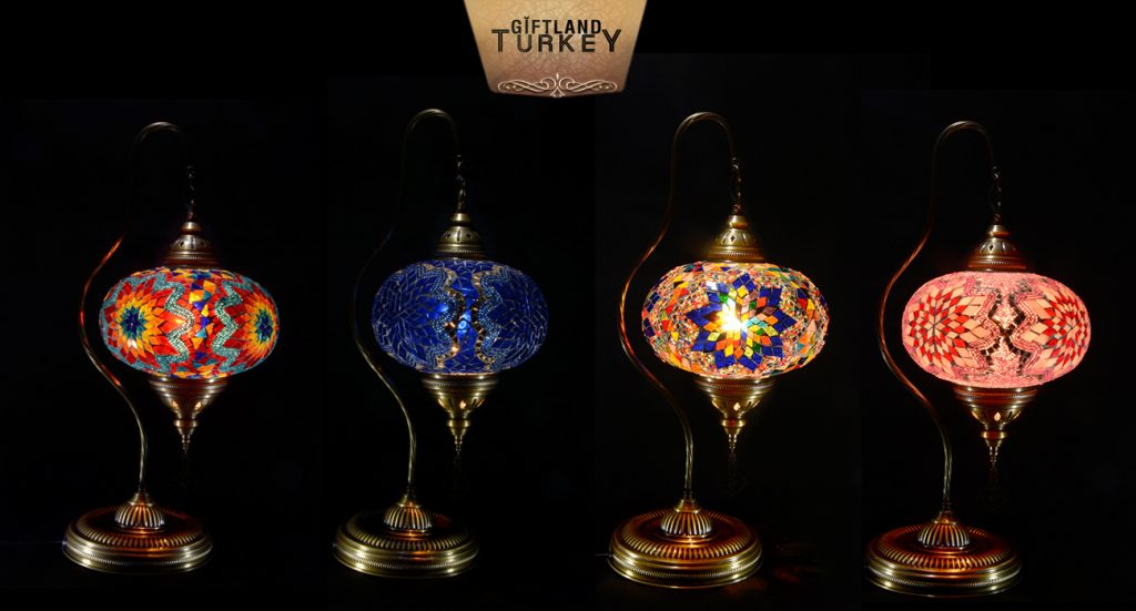 Best selling 5 mosaic lamp