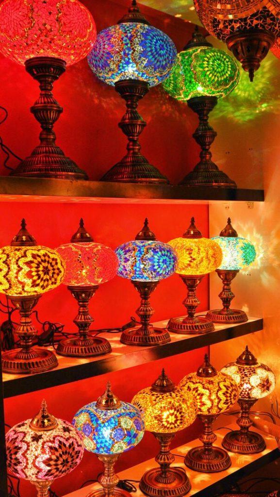Mosaic lamp Istanbul