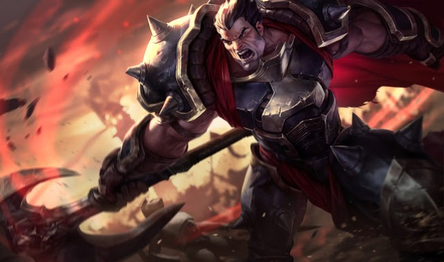 darius splash art