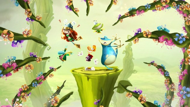 RaymanLegends_WiiU_LaunchDate_Celebration