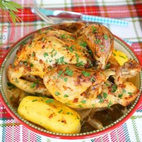Roasted Whole Chicken Recipe