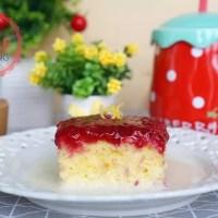 Raspberry Thres Leches Cake Recipe