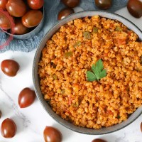 Eirkorn Bulgur Pilav Recipe