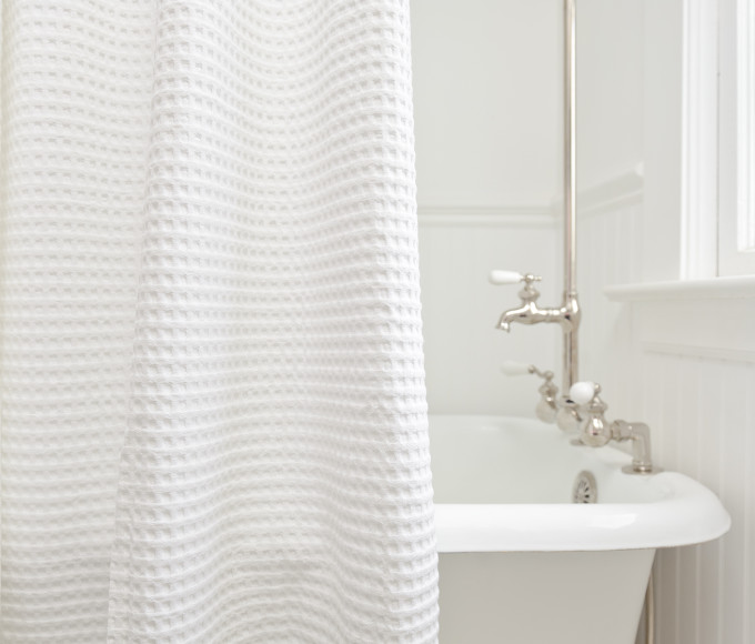 Additional ShowerCurtain Cotton Waffle