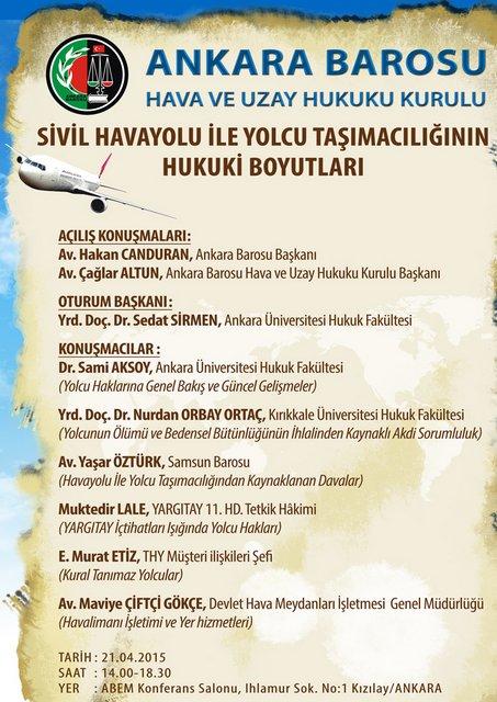 sivil havayolu ile yolcu taşımacılığının hukuki boyutları