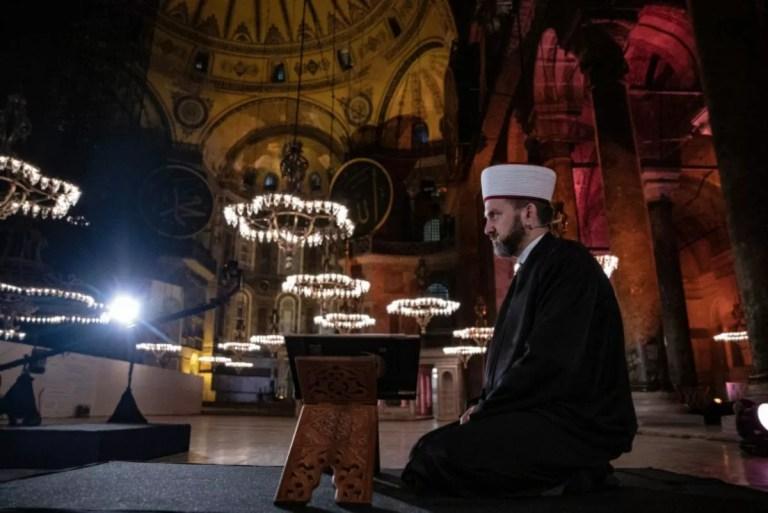 جامع آيا صوفيا يعود من جديد بقرار من مجلس الدولة التركي