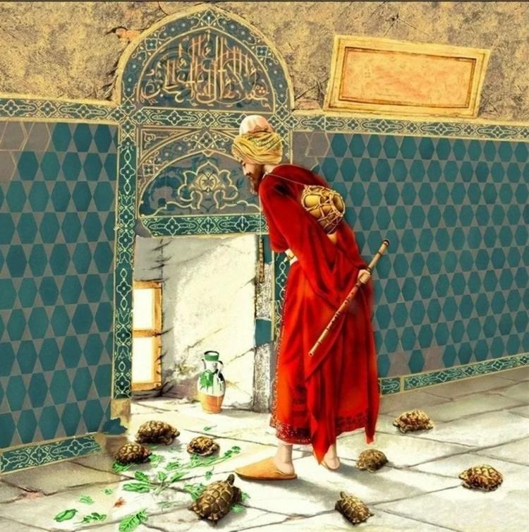 لوحات عثمان حمدي بيه
