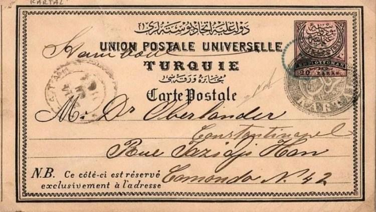 Ottoman Mail