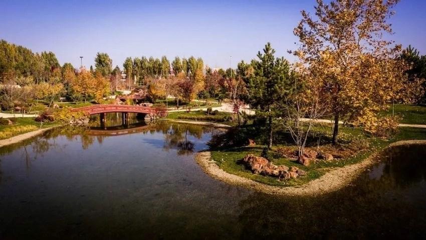 الحديقة اليابانية في اسكي شهير