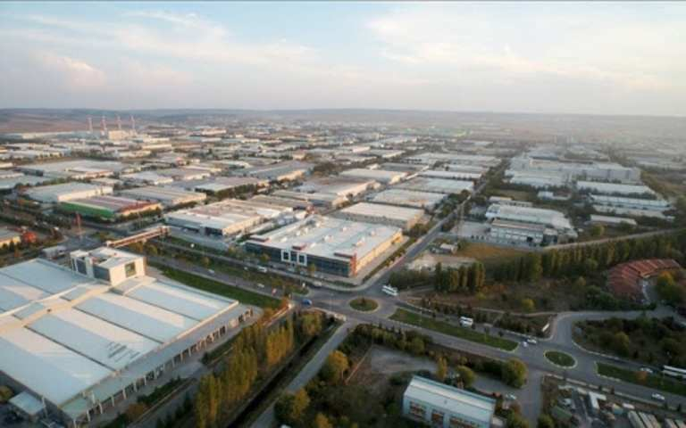 المنطقة الصناعية في اسكي شهير 1