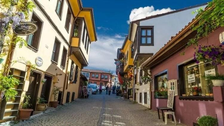 Odenbazari Häuser