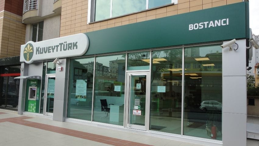 Filiale der Kuveyt Turk Bank in Boston