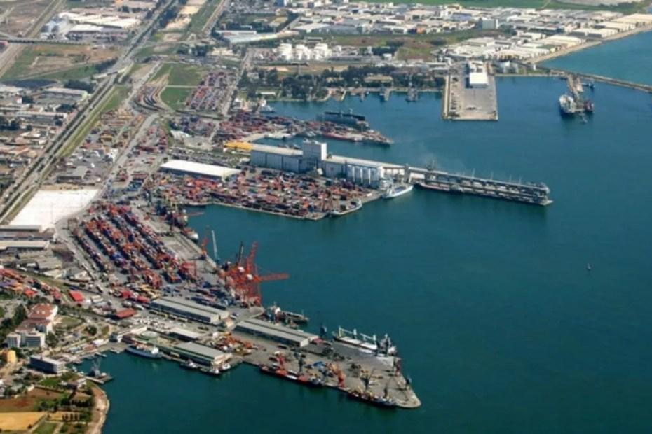 Mersin sea port