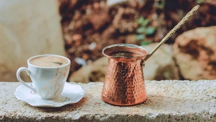 Cafetera Cobre Cezve