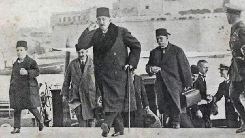 آخر سلطان عثماني محمد السادس العثماني
