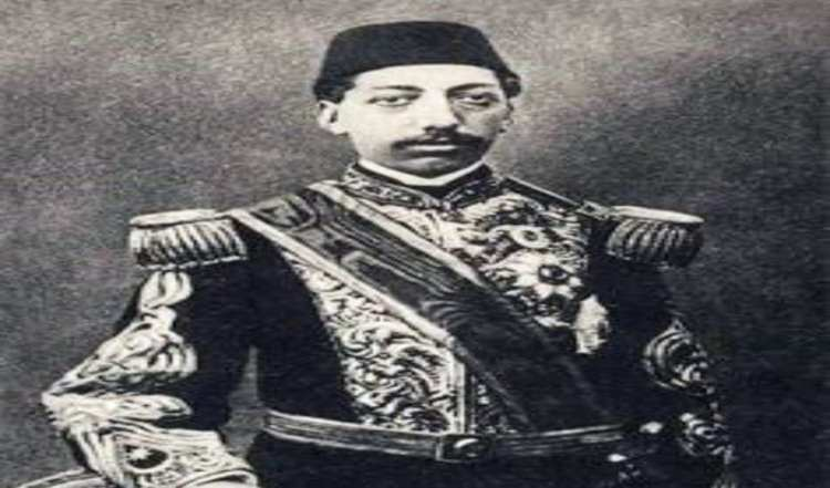 Sultan Muhammad Rashad in zijn jeugd