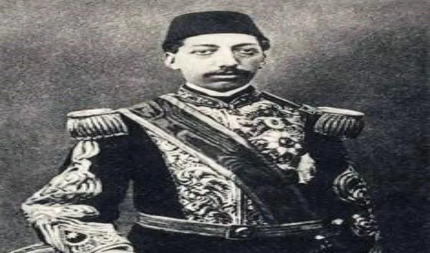 السلطان محمد رشاد في شبابه
