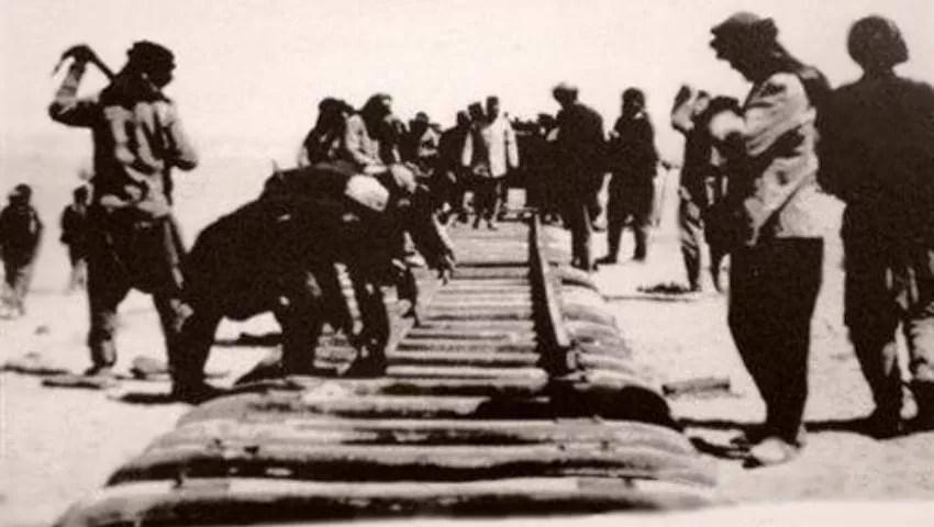 اعمل إنشاء خط سكة الحديد الحجاز
