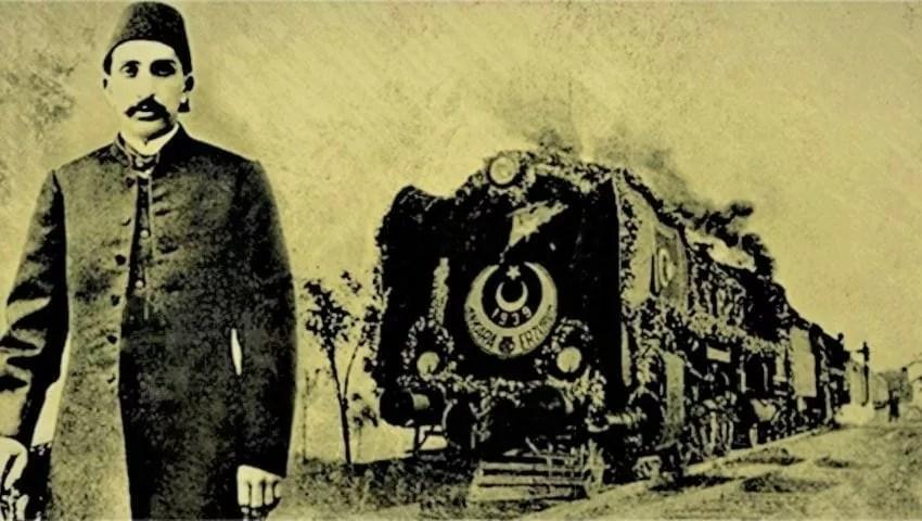 السلطان عبد الحميد سكة حديد الحجاز