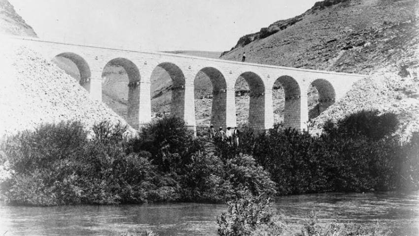 جسور سكة حديد الحجاز