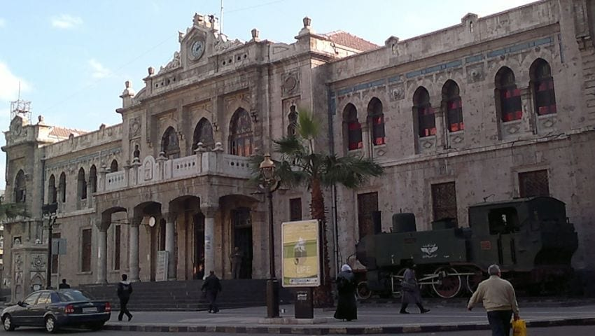Stația Damasc, linia Hijaz