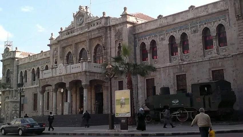 محطة دمشق خط الحجاز