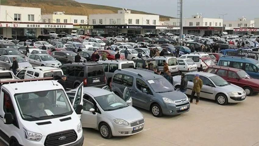 Used car market in Turkey