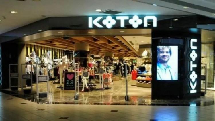 Отделение одежды Koton