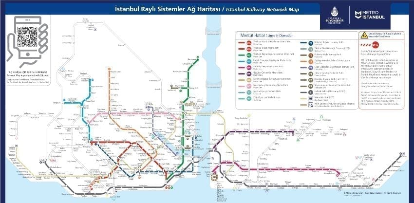 Istanbul U-Bahn Plan