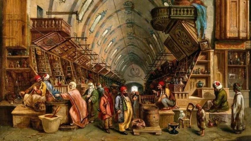 التجارة في الدولة العثمانية