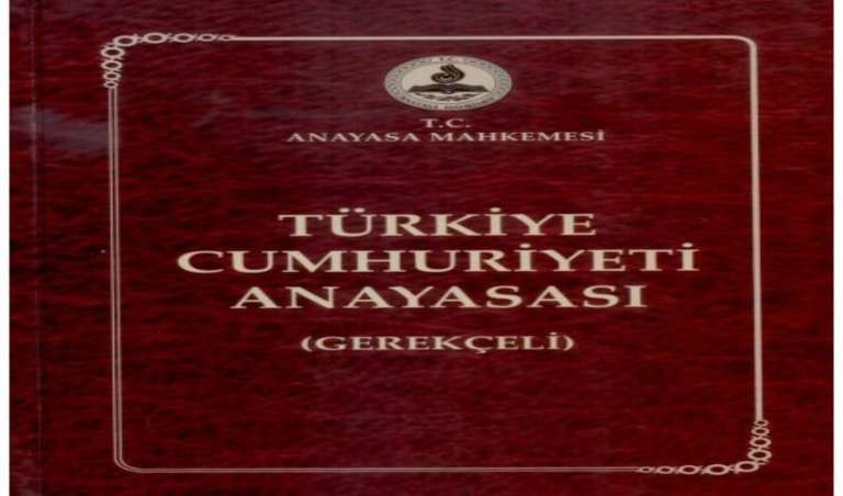 De Turkse grondwet
