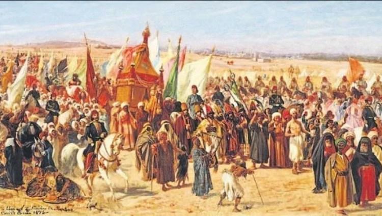 Visit of Sultan Abdul Aziz Al Othmani to Egypt
