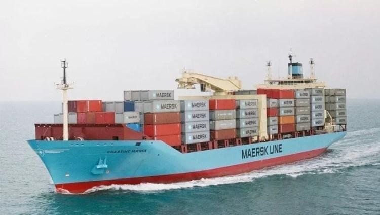 Conteneurs maritimes Maersk en Turquie