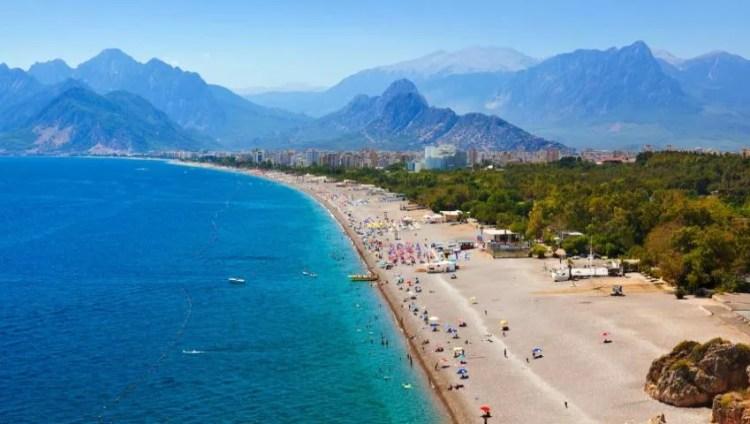 Blue Flag Beach Antalya