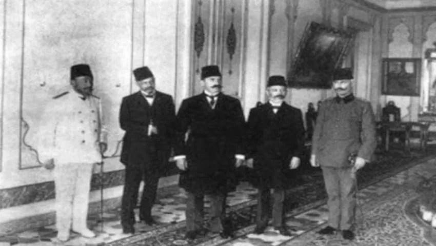 عزل السلطان عبد الحميد الثاني