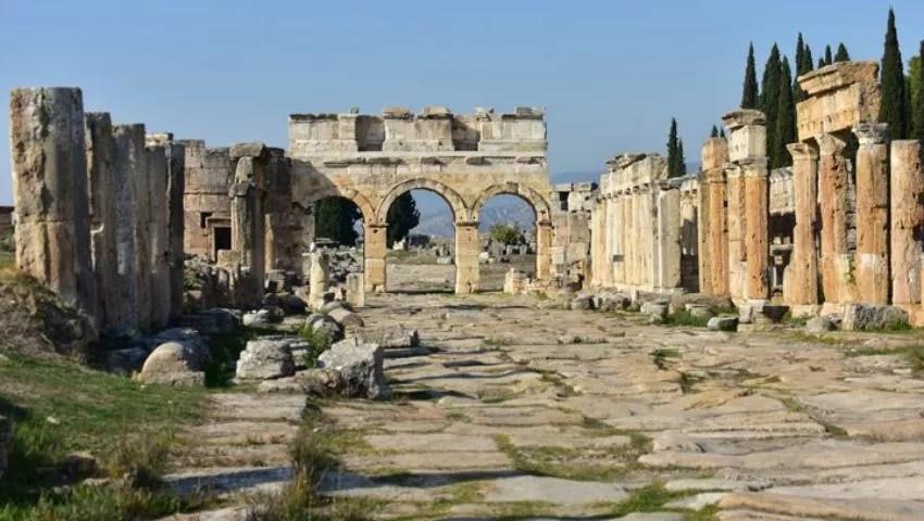 Hierapolis-Ruinen