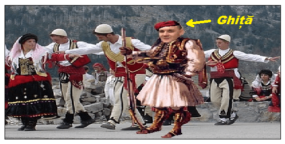 Senzațional ! – Fugarul Ghiță se ascunde în Kosovo