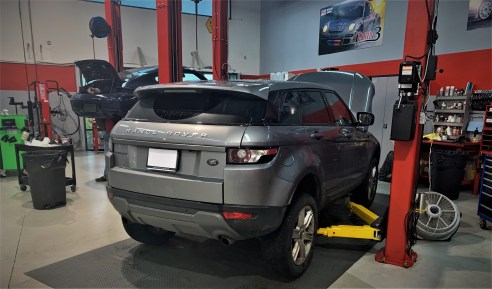 Turn3 Autosport Range Rover Evoque Repair Service Langley