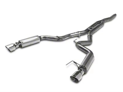mbrp xp series cat back exhaust with y pipe race version 15 21 ecoboost fastback w o active exhaust