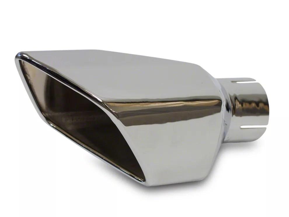 roush square exhaust tip left side 11 12 gt gt500