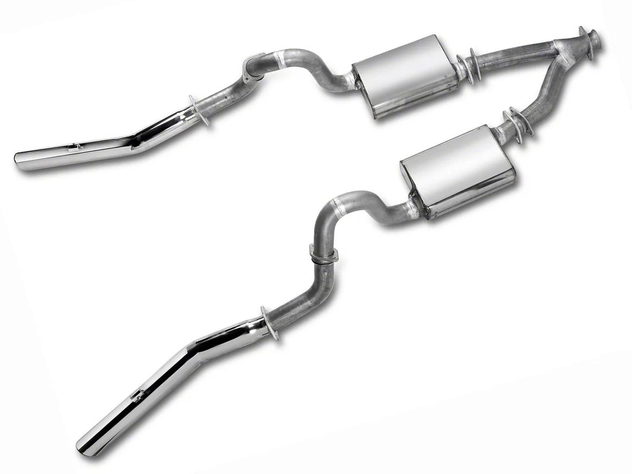 mac dual exhaust conversion kit 99 04 v6