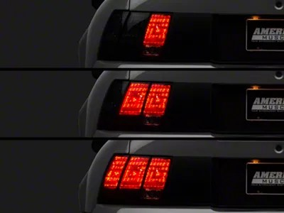 Raxiom Mustang LED Sequential Tail Light Kit  Plugand