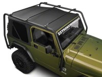 Barricade Jeep Wrangler Roof Rack - Textured Black J100172 ...