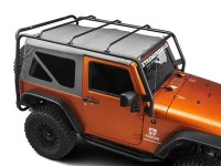Barricade Jeep Wrangler Roof Rack - Textured Black J100174 ...